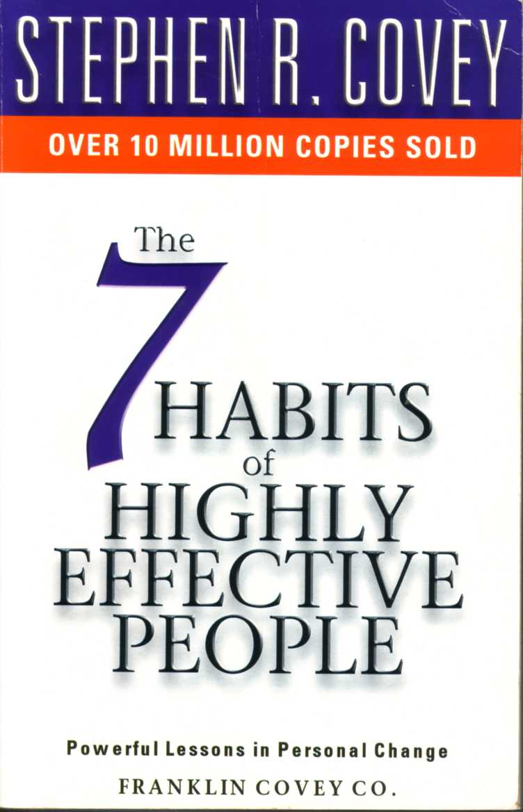 Image result for The 7 Habits of Highly Effective People by Stephen R. Covey