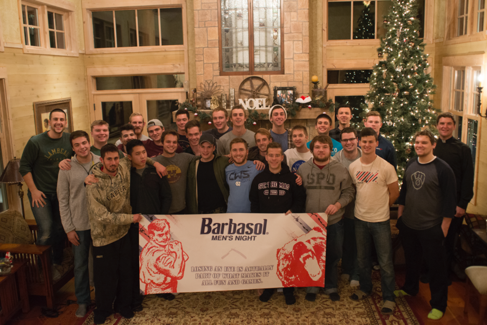 Thank you to Barbasol for helping sponsor our weekly men's nights and Men's Freedom Retreat!