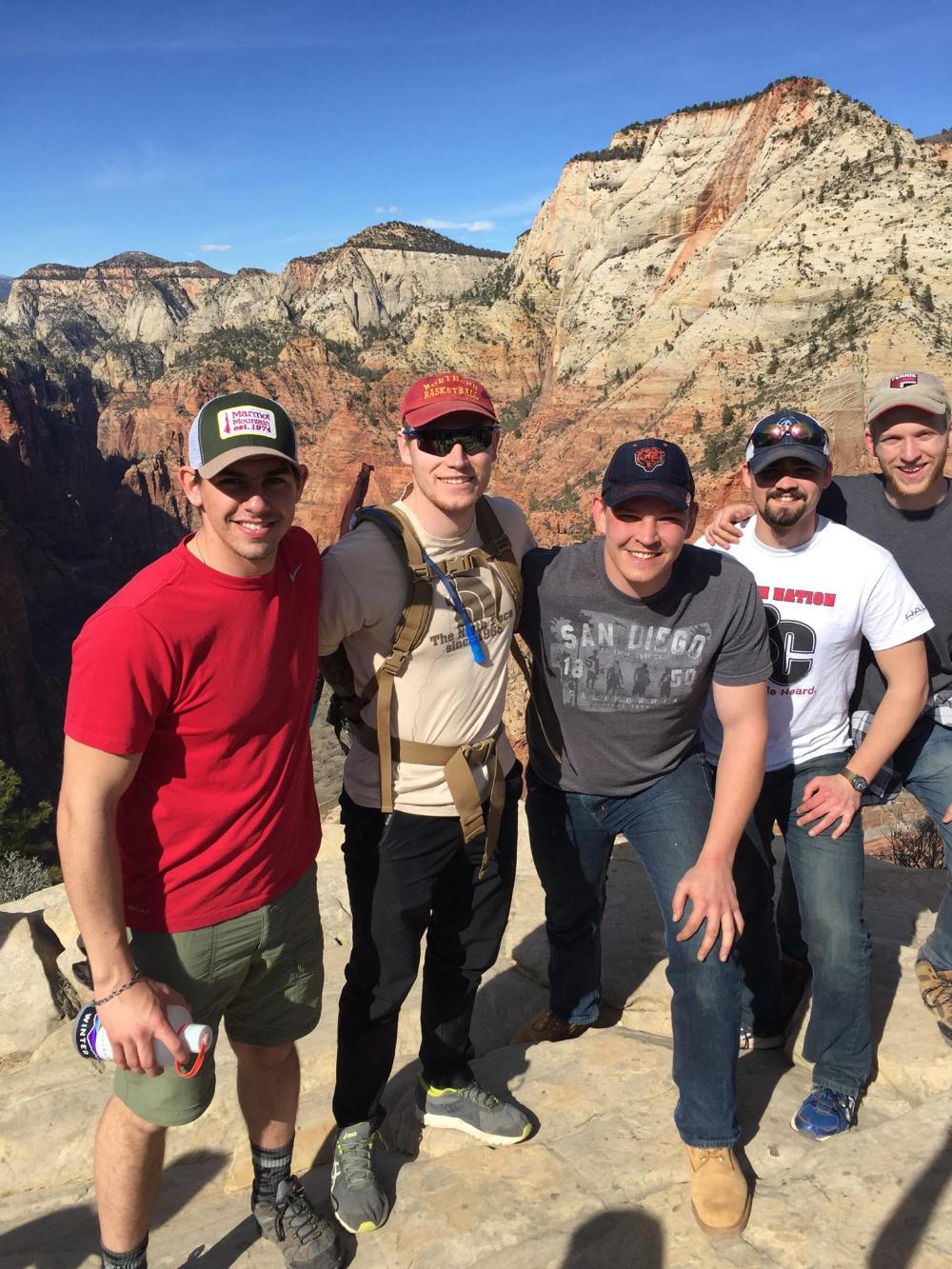 L to R: Sam, Grant,  Guy , Martin , Mike