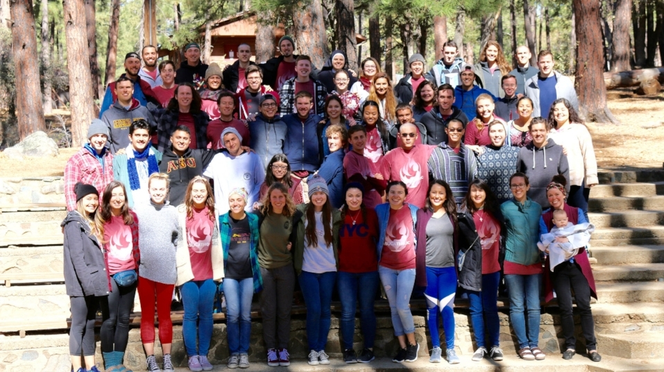 Here is the Fan into Flame crew - the 65 of us encountered the Lord on this awesome retreat!