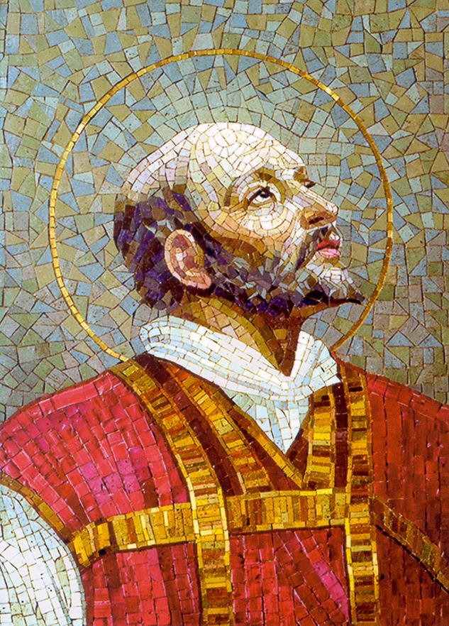 ST. IGNATIUS OF LOYOLA MOSAIC