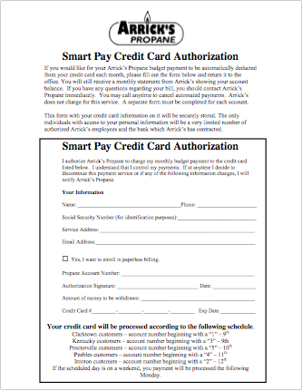 SmartPay Credit Card Authorization
