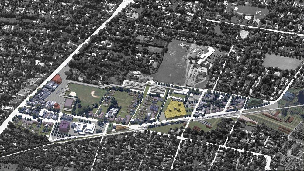 East Hampton Village, from Main street to Toilsome lane, East Hampton, NY