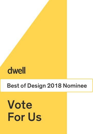 MB Architecture nominated in Dwell Magazine Best of Design Award