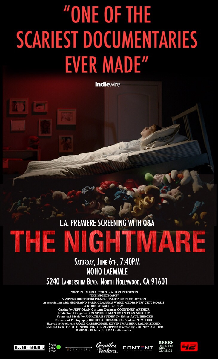 Poster for LA screening