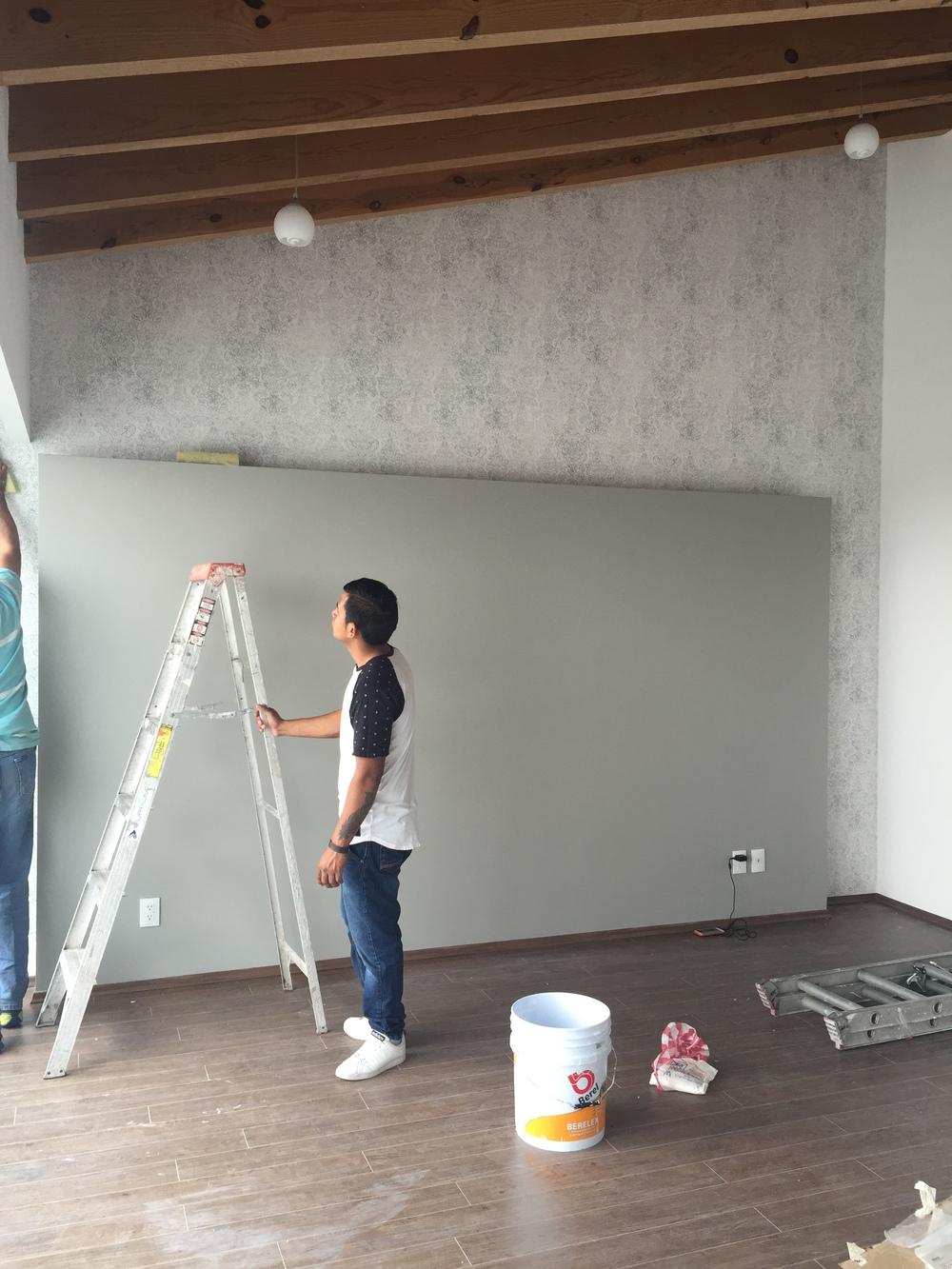 Step III, wallpaper | HUACAL ESTUDIO