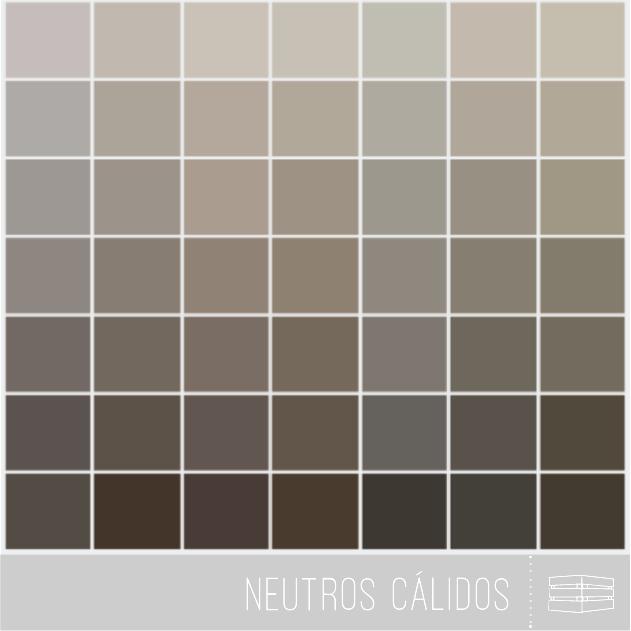 Crea tu espacio a trav s del color huacal estudio - Paleta de colores neutros ...