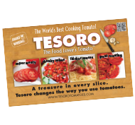 Tesoro 7 x 11 POS - Cuttingboard version