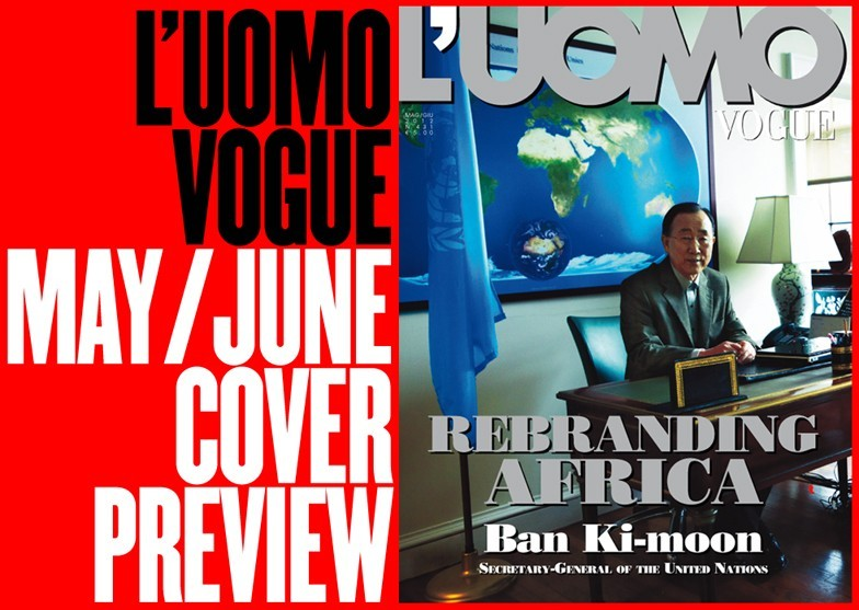 So Vogue Italia have decided to rebrand Africa by putting a South Korean on the cover.  Must be that Italian sense of humour.