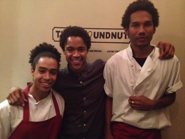 The Groundnut boys- Duval, Folayemi & Jacob