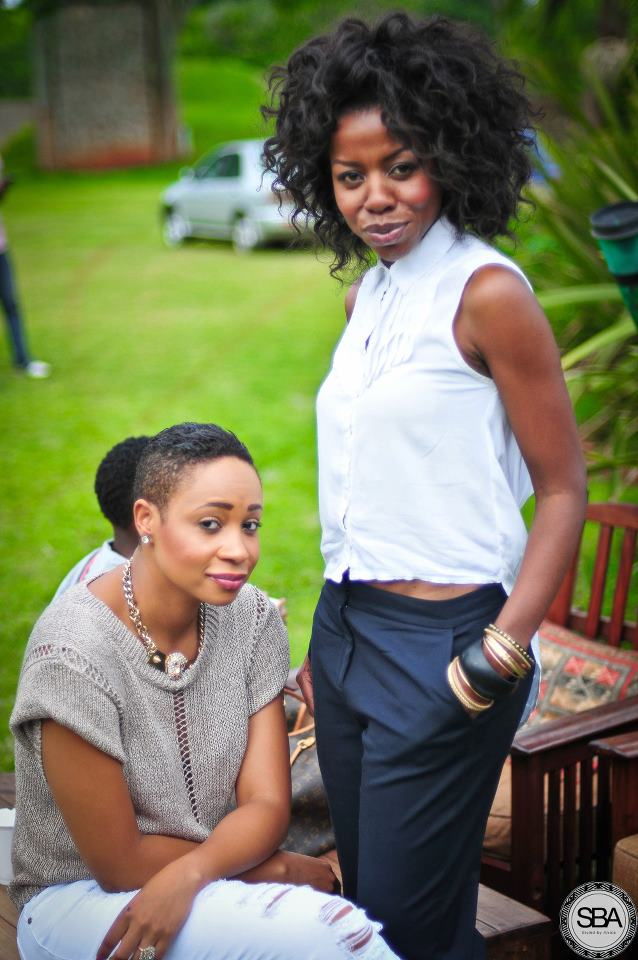 Hair is THE best accessory as the beautiful make up artist Jackie Mgido and boutique owner Pokello Nare showed us at our garden party.