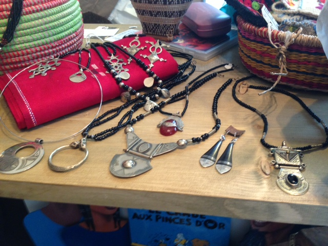 Hand crafted silver Tuareg jewellery