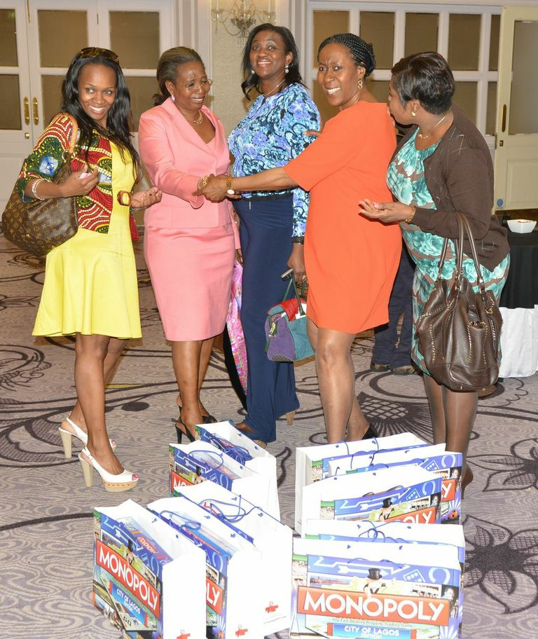 Bili Awosika and friends