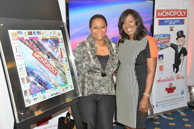 Securities and Exchange Commissioner, Arunma Oteh and CEO of Bestman Games Nimi Akinkugbe.