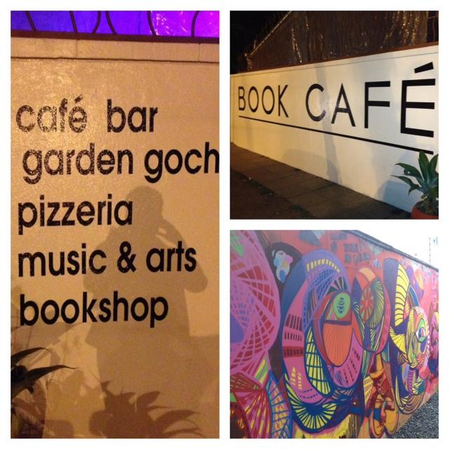 Book Cafe Harare Zimbabwe, Cafe Bar Harare, Gochi Harare, Pizza Harare, Bookshop Harare, Live Music Harare.