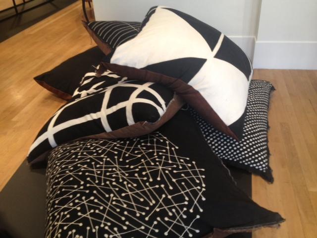 Boubacar Doumbia floor cushions (£300)