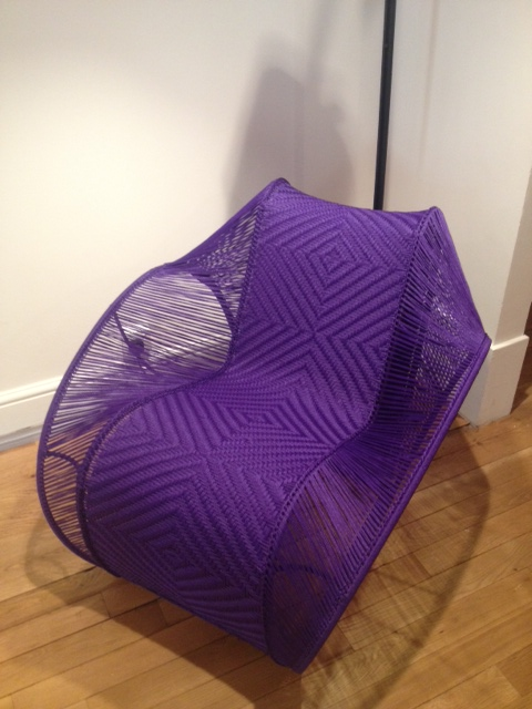 Cheick Diallo woven chair made in Bamako Mali (£4000)