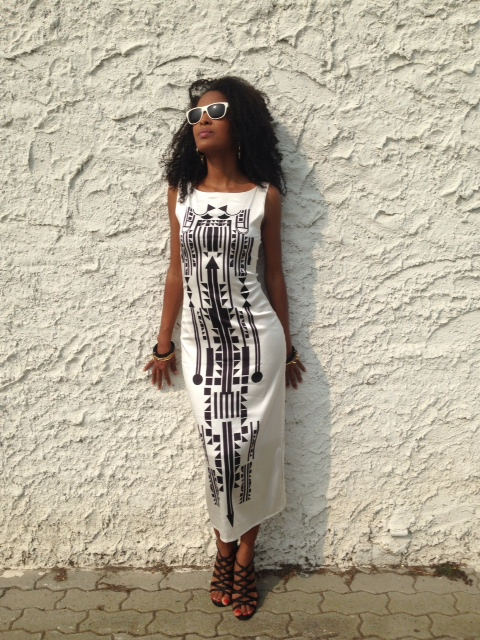 Claudia in Sindiso Khumalo Nina Dress