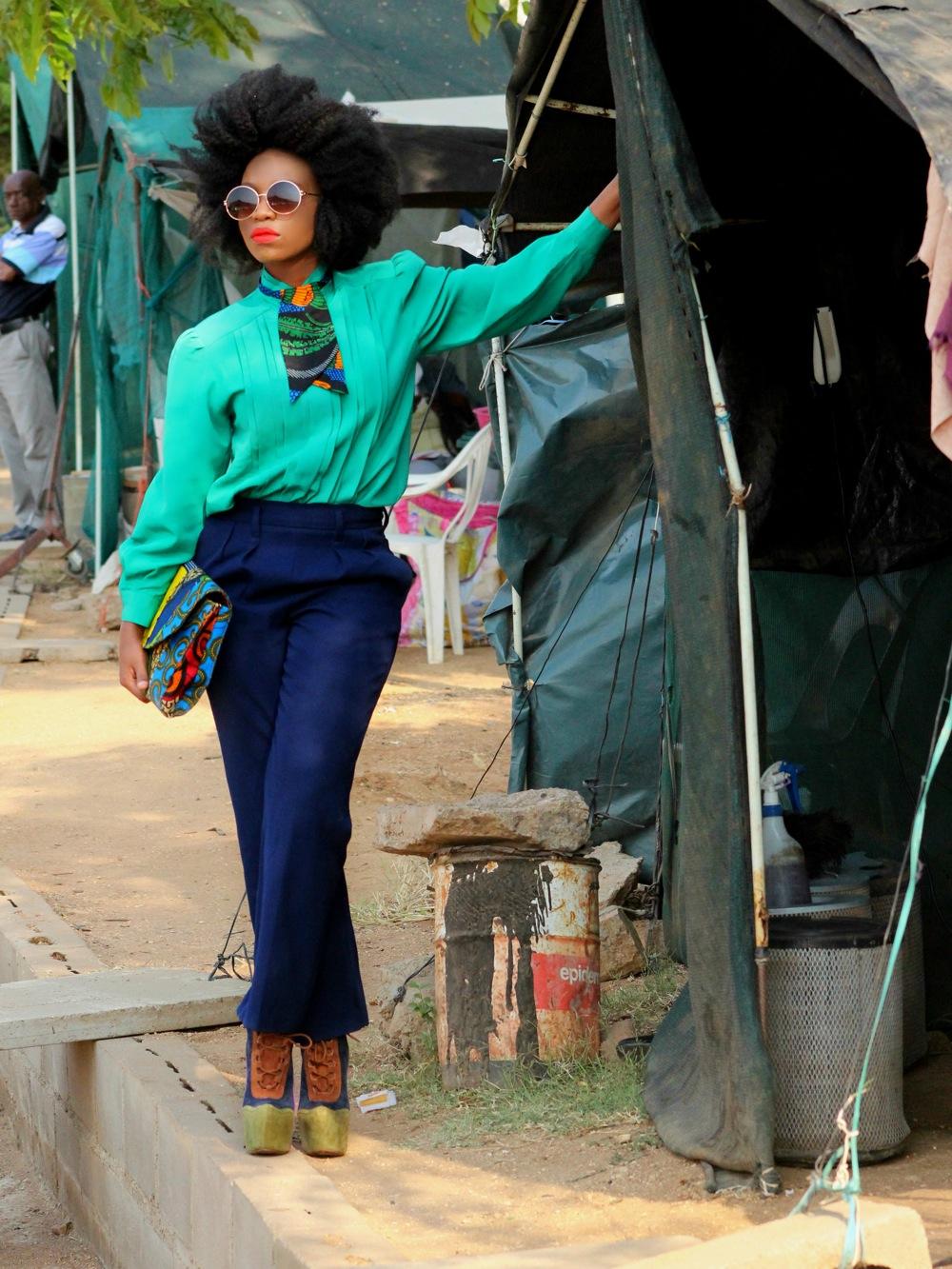 The Khoi Fro Gaborone Botswana Style Blogger