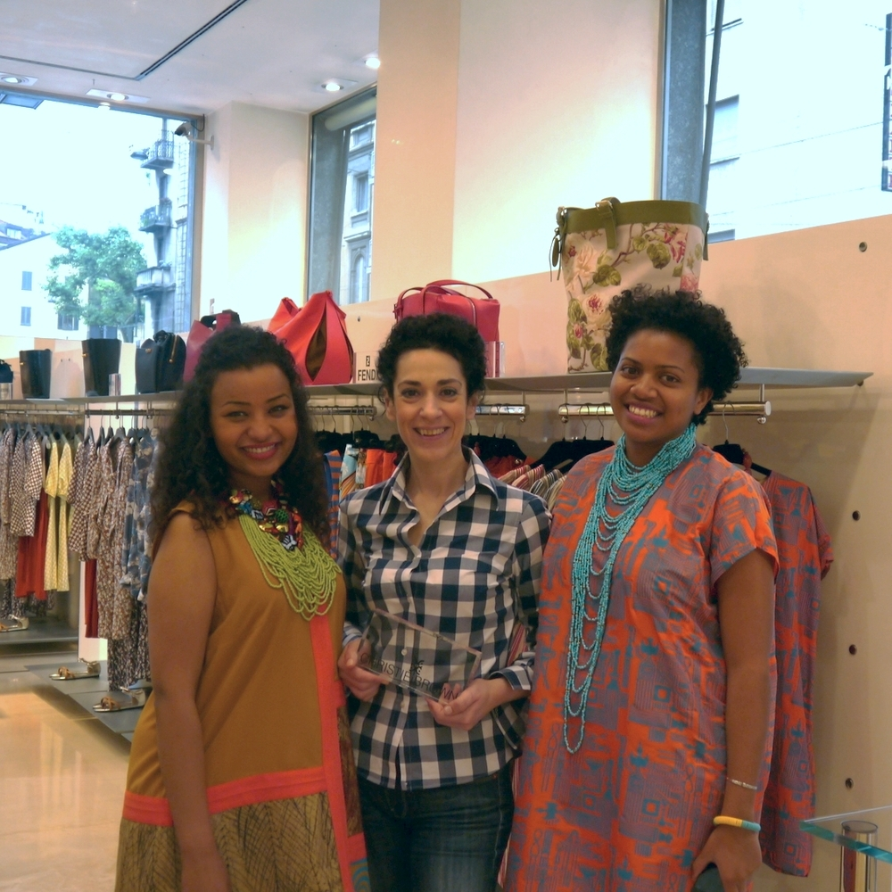 Styled By Africa with Frederica Ricci, Corporate Communications Manger, Biffi Spa