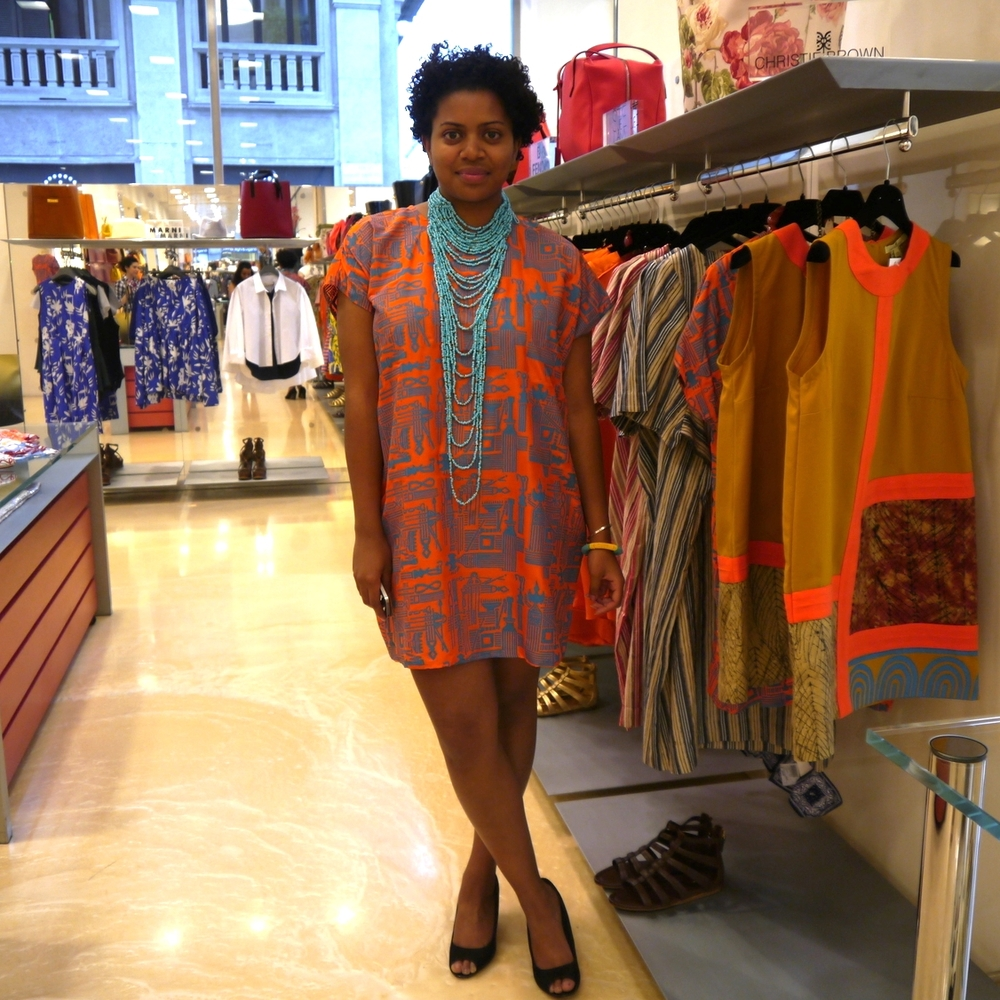 Kiran in Christie Brown Spring/Summer Collection 2014, Biffi Boutique