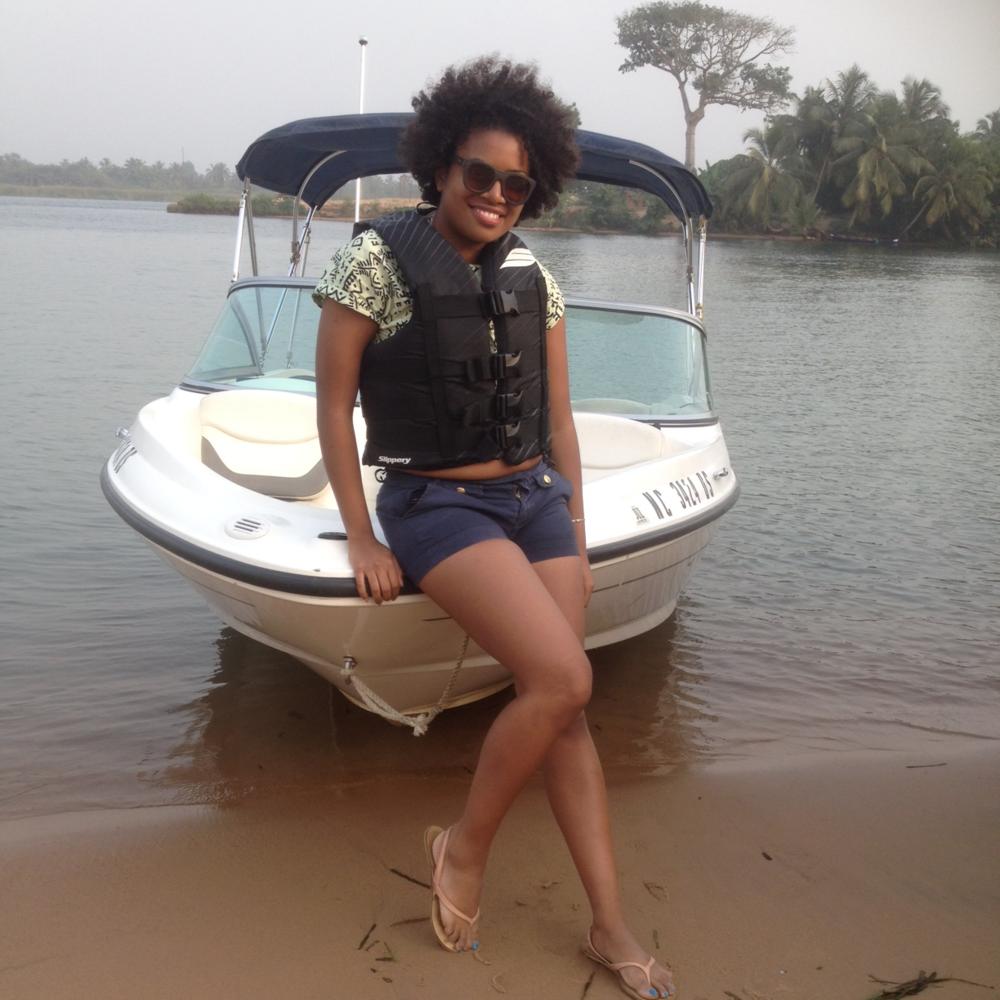 Ada Water Sports Jet Ski Accra Ghana Kiran Yoliswa Styled By Africa
