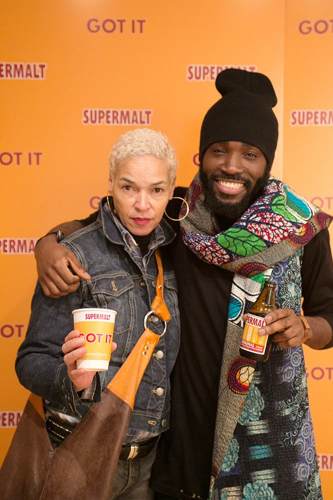 Charly Van Purpz (right)