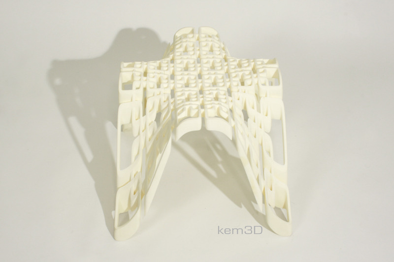 lattice rig stool