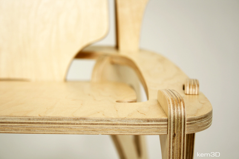 breakplane chair detail