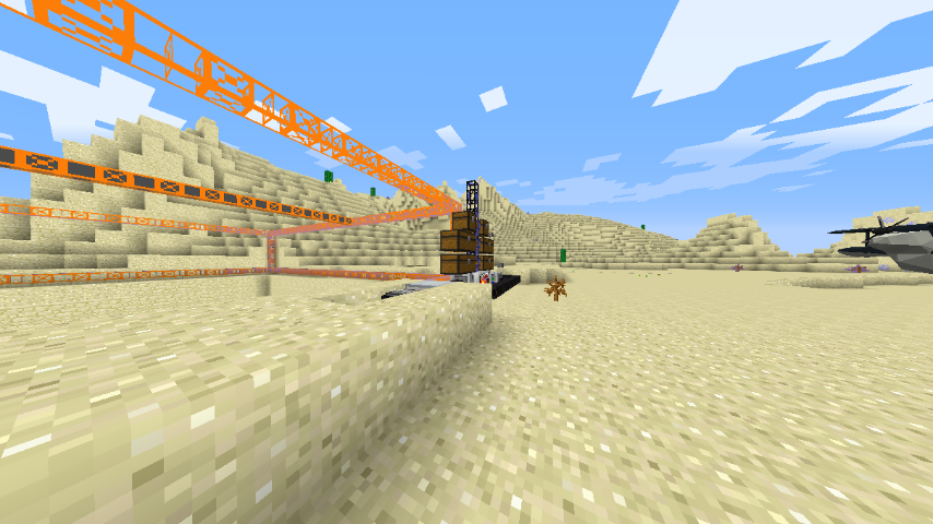 This is my quarry. I need a lot of chests for the ores and things to go into!