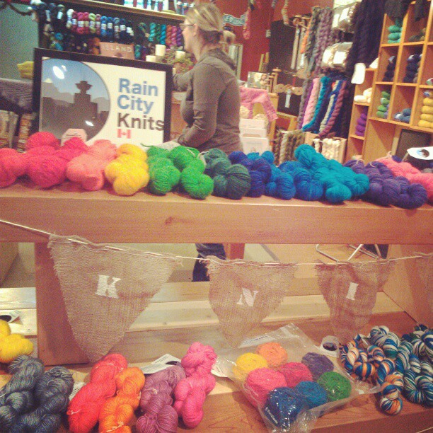 Yarn at Baaad Anna's.