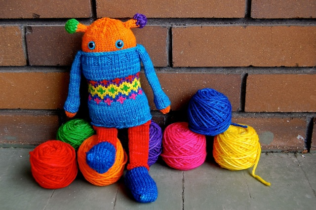 Ciel, a Bright Monster in DK Babycakes. Image used with permission of Heather Sebastian.