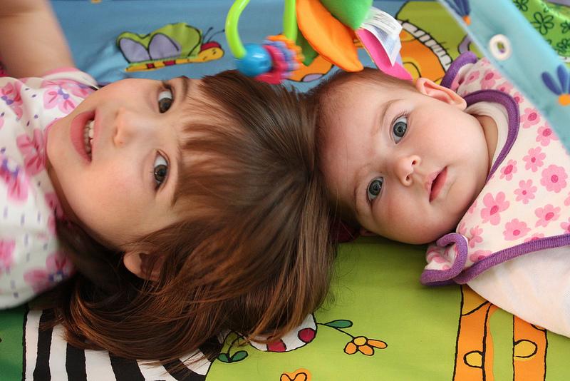 Beautiful nieces.