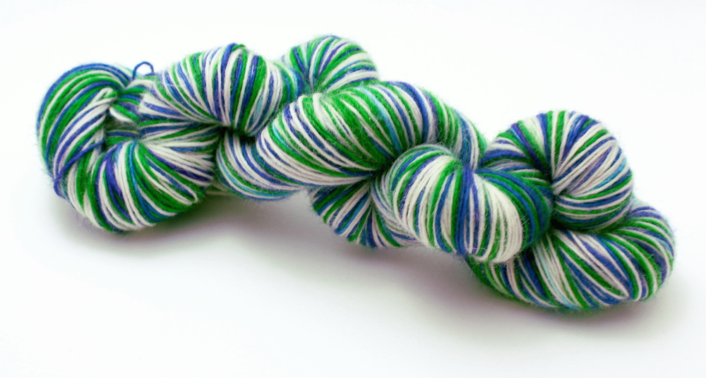 Local Sports Team Self-Striping Sock Yarn