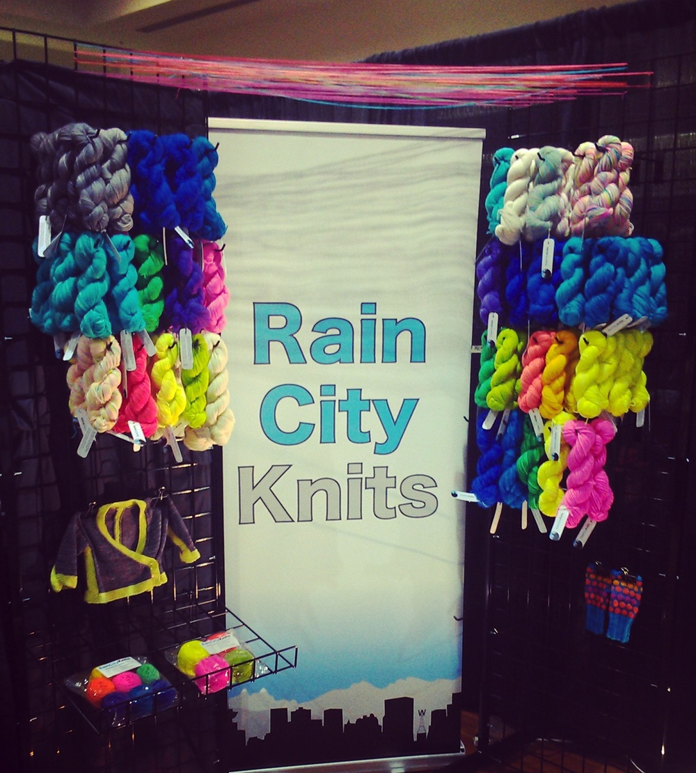 Knit City Booth 2013
