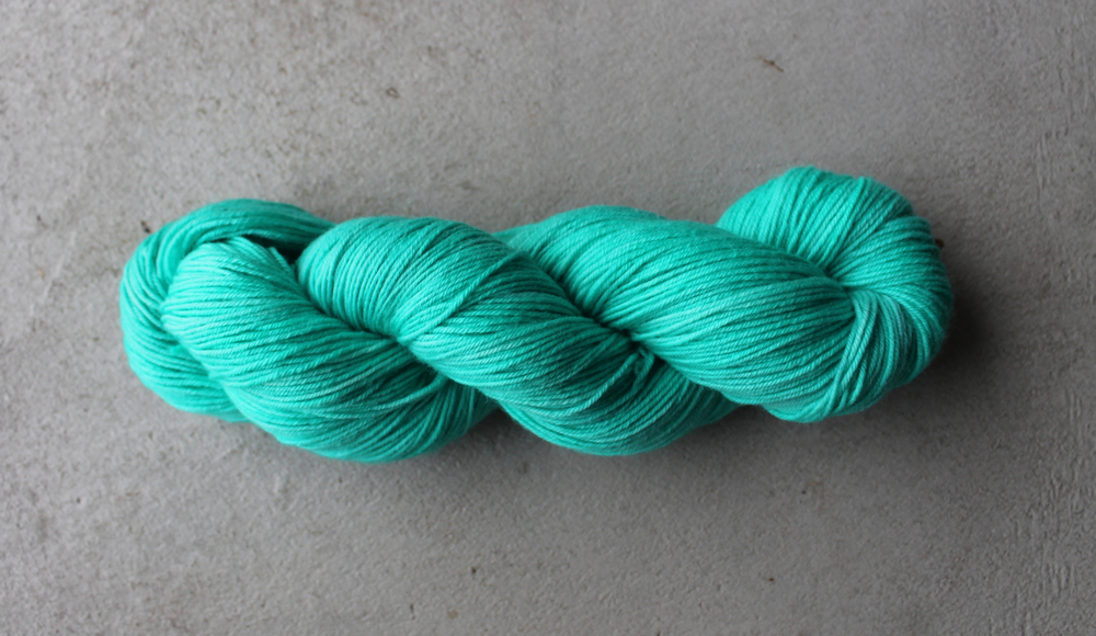 Blue Teal DK Superwash Bluefaced Leicester