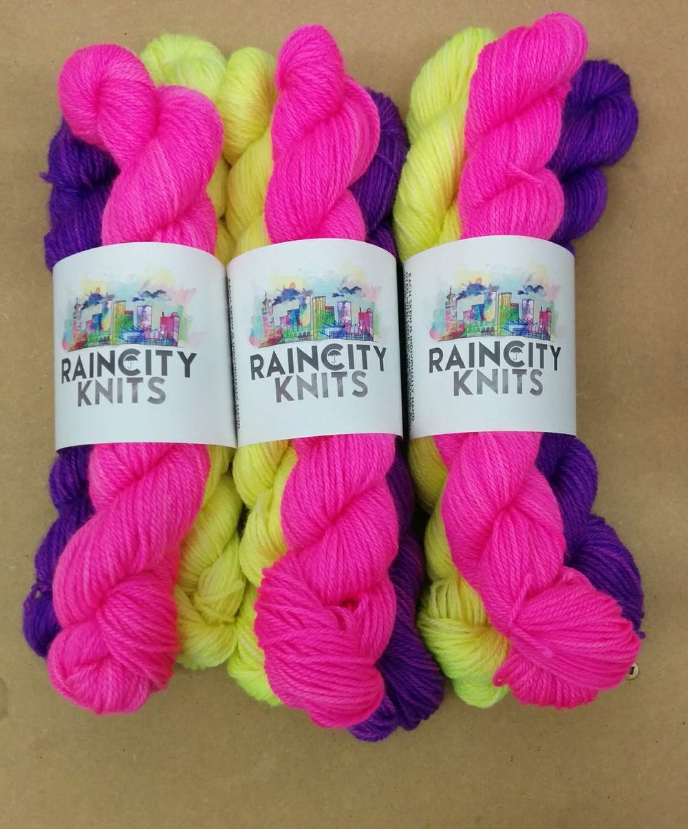 Southwest Knitalong Kit - Three sets of Brights