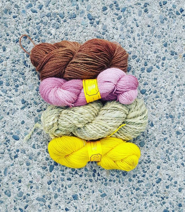 Huge shoutout to Up A Creek Farm on Vancouver Island for this bumper pack of yarn! Made with their very own Angora Goats'  Mohair 🐐  www.upacreekfarm.webs.com  #supportlocal #bcmade