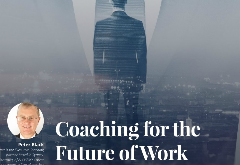 COACHING FOR THE FUTURE OF WORK   ICF MAGAZINE  DECEMBER 2016  Developing our leaders for the future [page 17]