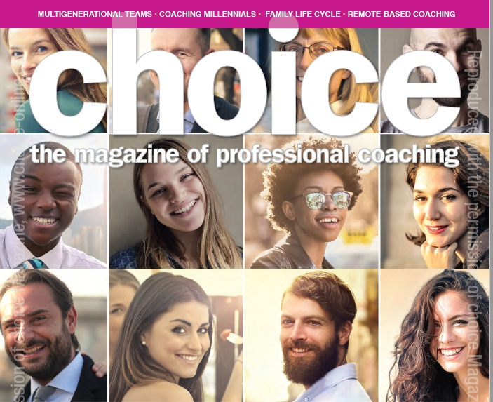 REMOTE BASED COACHING   CHOICE MAGAZINE  SEPTEMBER 2016  Elements that facilitate great outcomes for remote-based clients.