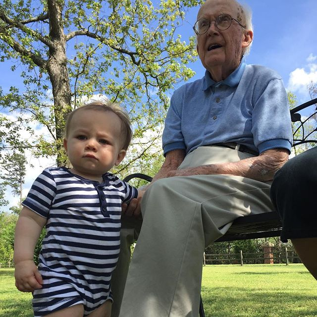 Hanging with Granddaddy