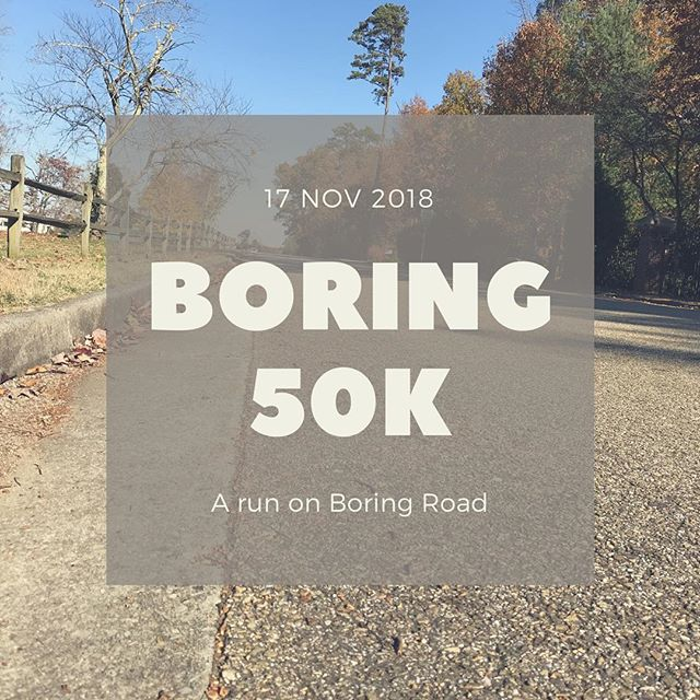 The most fun boring ultra in TN🏃18 out and backs on Boring Road #ultramarathon #ultraboring #outandback #18lapsofmonotony #happiness