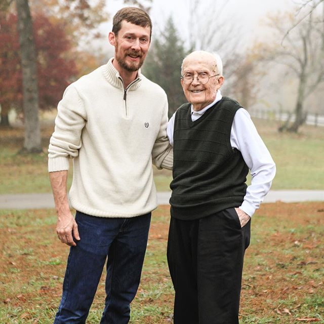 My awesome Granddaddy Ed Johnson passed away peacefully Sunday morning. I'm real grateful to have experienced so much life with him! He was 102 years young!
