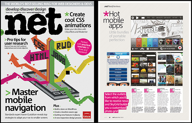 September 2012 issue Net Magazine