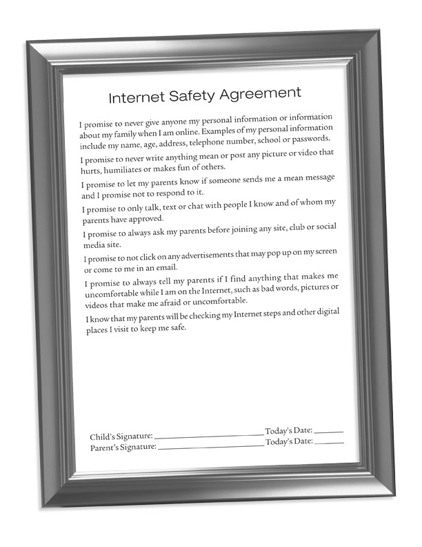 Click to Download The Internet Safety Agreement