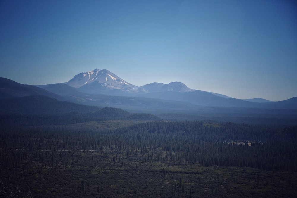 Mount Lassen, California.