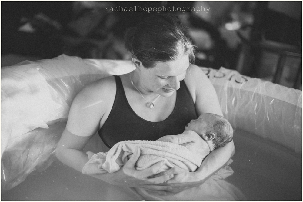 Image from a Home Birth in Lakewood Colorado.