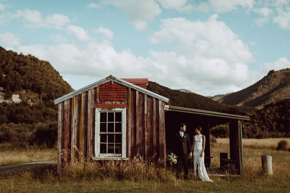 Red Hut Poronui Wedding