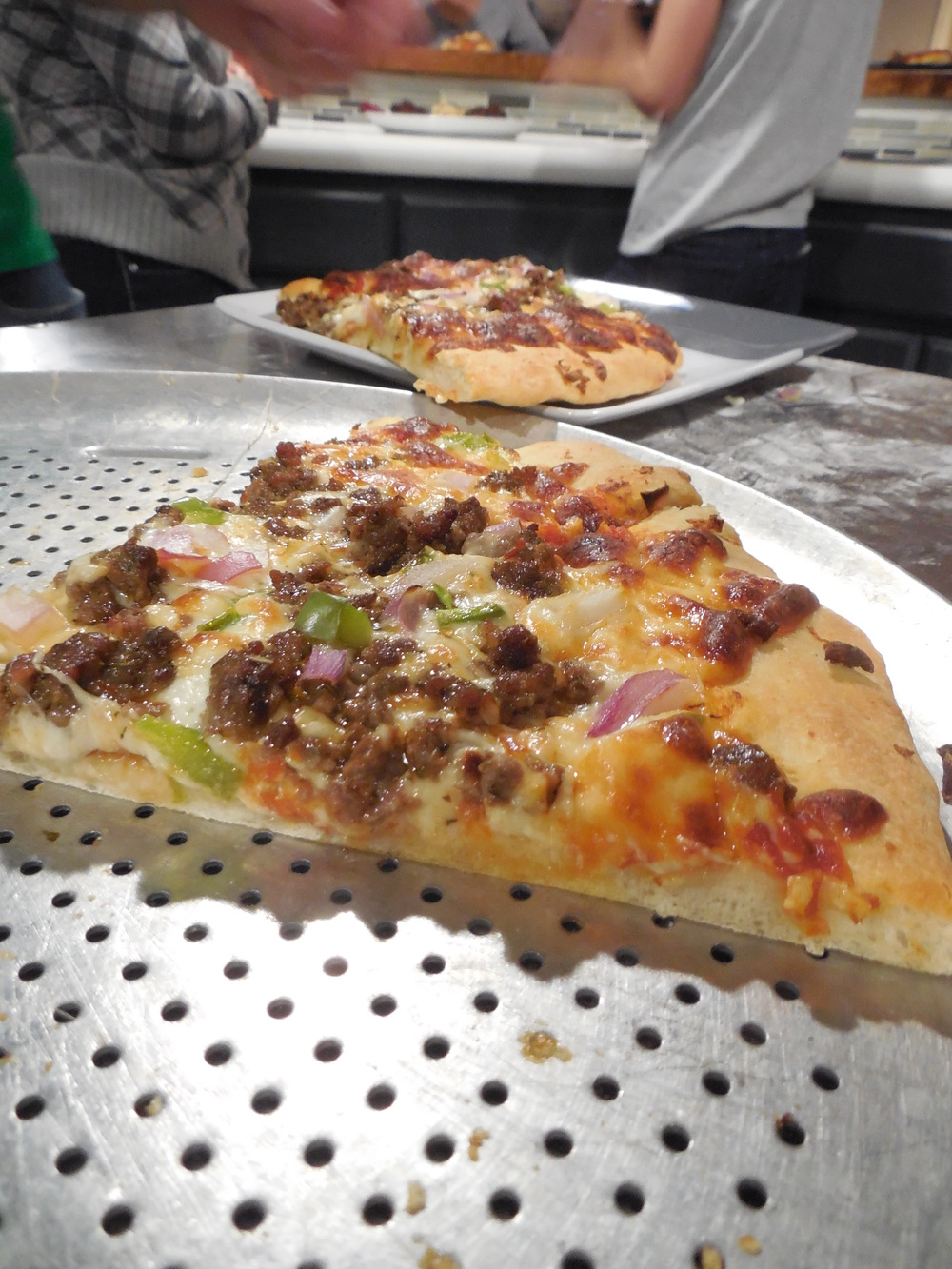 Venison pizza was amazing......probably one of our best ones on record.