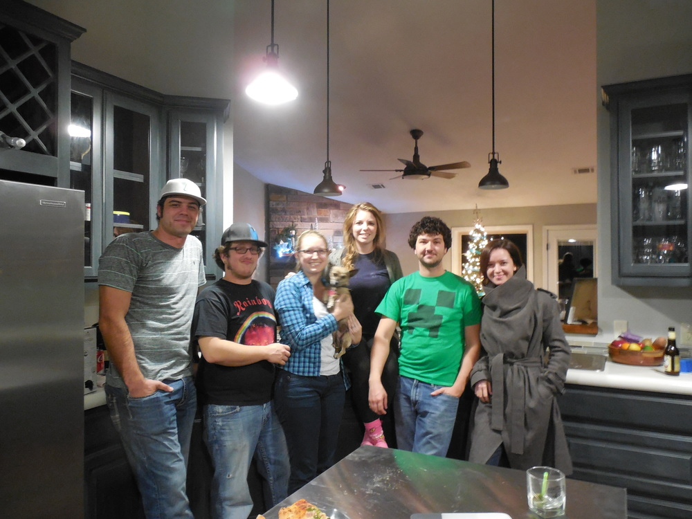 Oh, my heart is full. Having everyone over cooking, drinking and conversing!!!! We had such a great night.....many more to come.....